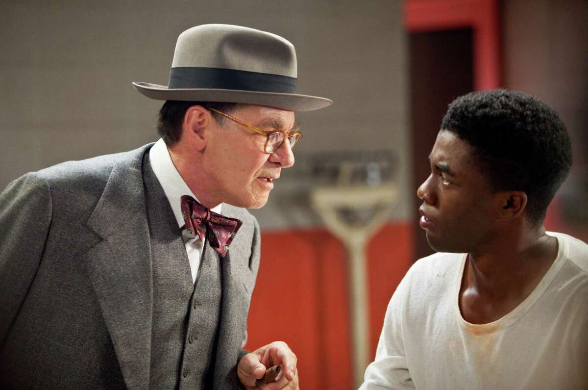 42 (2013) Available on Netflix Nov. 1In 1946, Branch Rickey, legendary manager of the Brooklyn Dodgers, defies major league baseball's notorious color barrier by signing Jackie Robinson to the team.