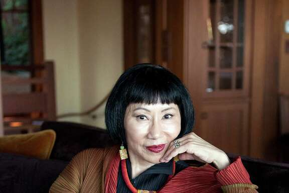 "Novelist Amy Tan, photographed in her home in Sausalito, Calif., spent eight years researching and writing ""The Valley of Amazement."""