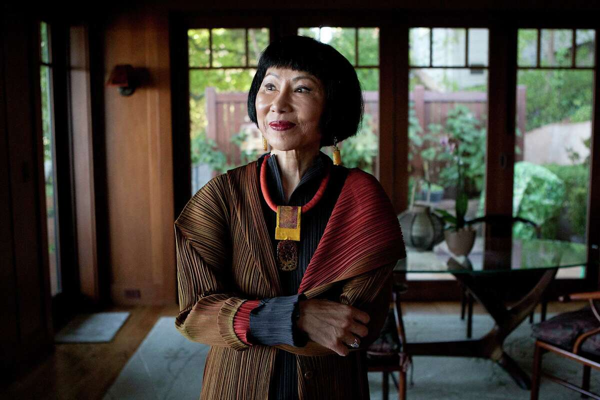 Amy Tan talked to academics about the tricks of the courtesan trade while researching her book.