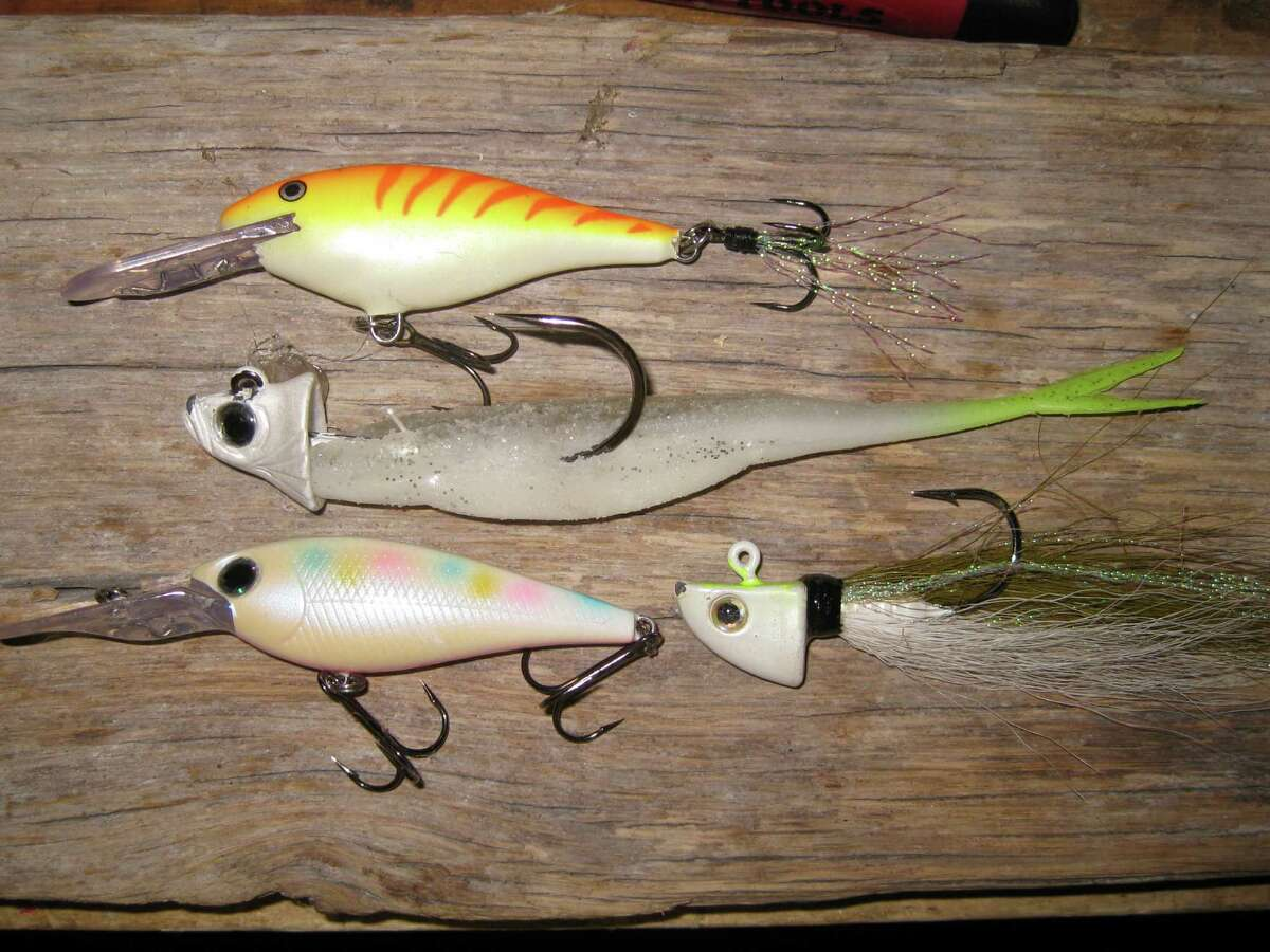 Small lures like these have been deadly on small stripers in area rivers and estuaries this season and would make a much-appreciated holiday gift for an angler.