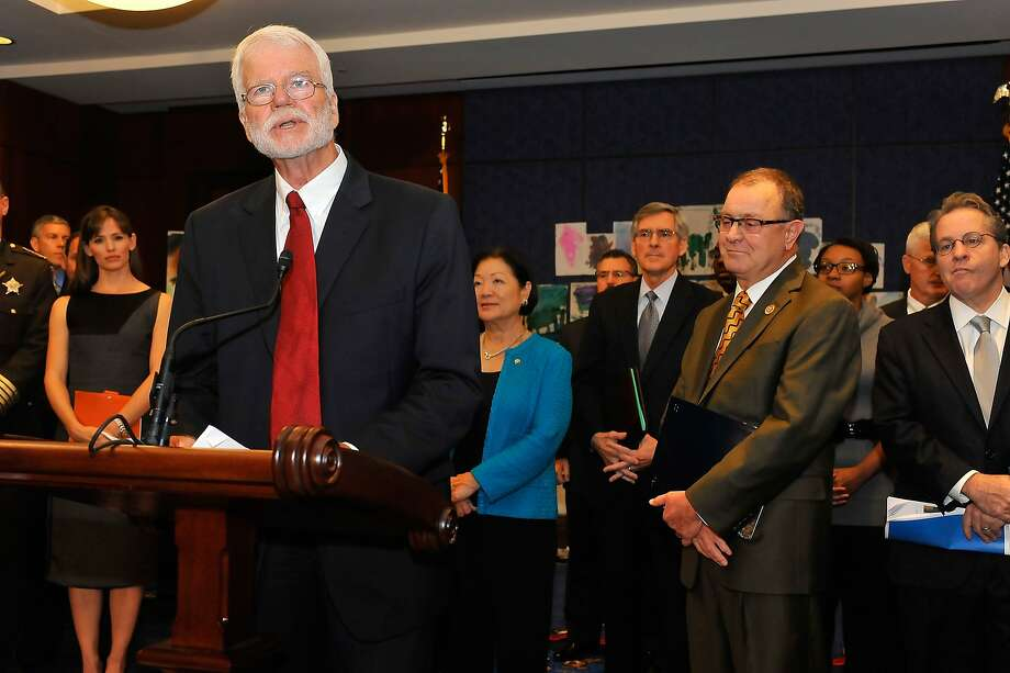 Rep. George Miller, D-Martinez, speaks at the November introduction of the Strong Start for America's Children legislation in Washington, D.C. Photo: Larry French, Getty Images