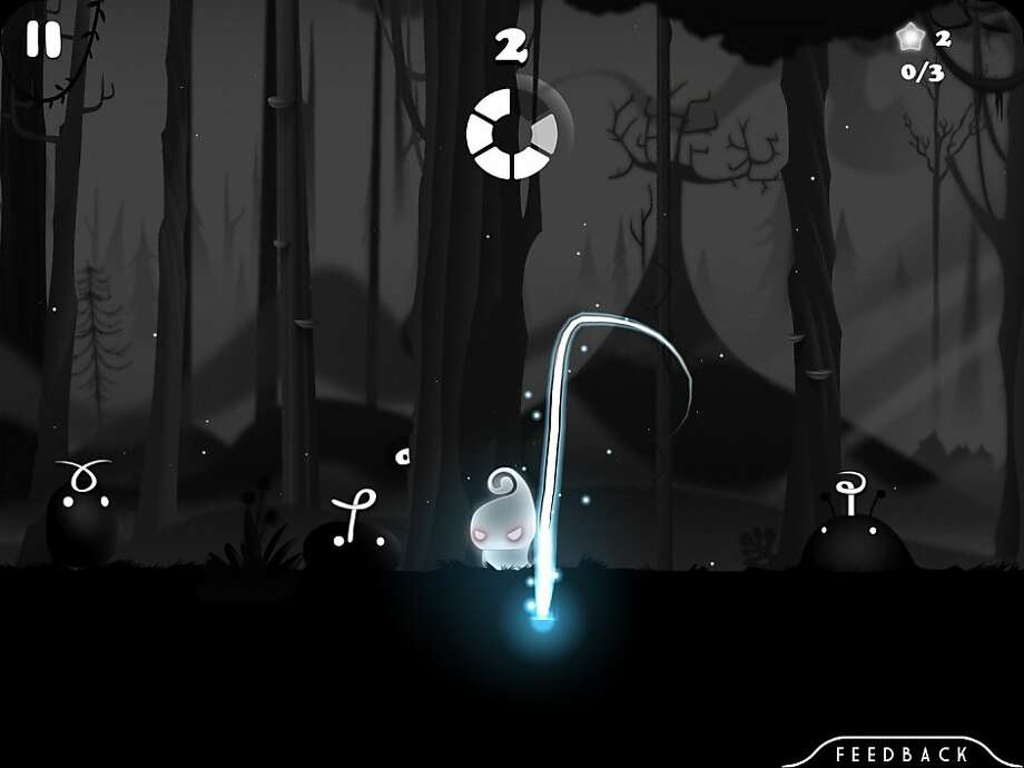 Darklings is a mobile gesture-based puzzle game for iOS. Photo: MildMania