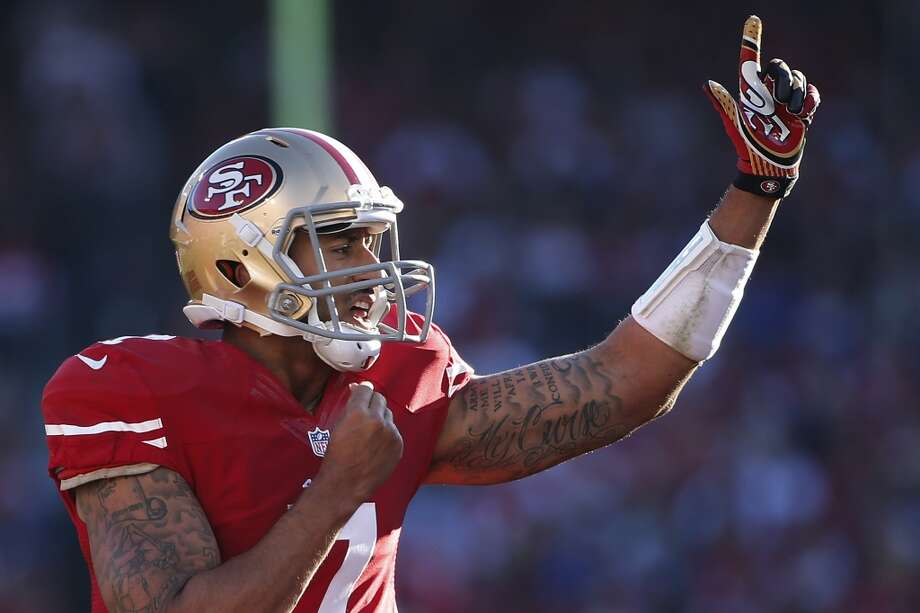 3. The improvement of Colin KaepernickAfter his outstanding breakout last season, Kaepernick has been hit-or-miss this year. He has thrown 15 touchdowns to 7 interceptions, and on average is completing 57.8 percent of his passes -- not bad at all, but not eye-popping and certainly not dominant. His big problem has been a lack of healthy receivers, but that has changed.Kaepernick has upped his game since the return of receiver Mario Manningham on Nov. 17, and he gained Michael Crabtree last Sunday, after both of them missed much of the season with injuries. In his past two outings, Kaepernick has been capturing passer ratings over 100, is averaging nearly 10 yards per passing attempt, and has been completing more than 62 percent of his passes. He threw three TDs against the Redskins two weeks ago, and threw for 275 yards against the St. Louis Rams last Sunday.Manningham and Crabtree open the game up for Kaepernick, who up until recently relied mainly on receiver Anquan Boldin and tight end Vernon Davis -- the only two receivers who have caught TDs for the Niners so far. With more weapons at his disposal, Kaepernick is becoming dangerous again, and the Seahawks will need to pay close attention to his ability to make plays with his arm and with his legs. Though he is behind Wilson in his development as a young quarterback, and despite his relative predictability when looking for a bail-out receiver, Kaepernick is beginning to look again like the QB who took the 49ers to the Super Bowl last season. Photo: Stephen Lam, Getty Images