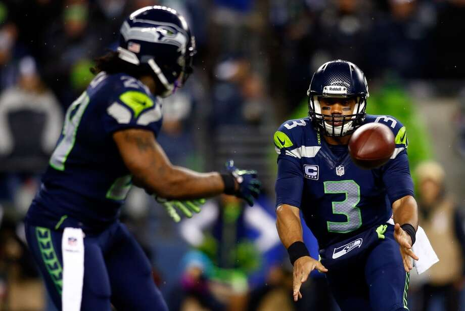 BONUS: Seattle could clinch NFC West  With a win on Sunday, the Seahawks would clinch the NFC West title this season. They missed it by just a half-game last year, when the 49ers eked out the divisional crown en route to the Super Bowl. Seattle wants nothing more than to hang another banner in CenturyLink Field.  The 49ers are in second place in the NFC West with a record of 8-4, just one game ahead of the 7-5 Arizona Cardinals (though San Francisco holds the head-to-head tiebreaker). With a three-game lead in the division and just four games remaining in the regular season (including Sunday), the Seahawks need to win just one more for the divisional title.  What's more, Seattle needs just two more wins in their final four games to clinch the No. 1 playoff seed in the whole NFC. With the top seed, the Seahawks would get home-field advantage in the postseason, forcing opponents to play them at CenturyLink Field. And we all know how well visiting teams have performed at the CLink; the Seahawks are on a 14-game home winning streak that dates to the beginning of 2012. Photo: Jonathan Ferrey, Getty Images