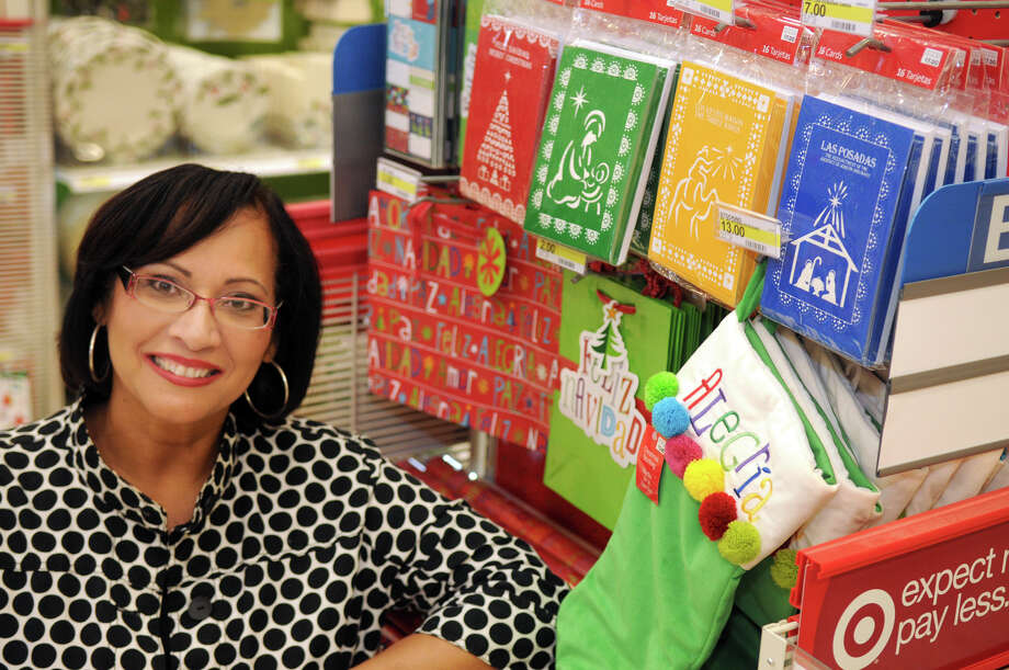 Ivette Mayo is a Latina business leader from Houston who, among other deals, signed a licensing/royalty deal with Paper Magic Group for four bilingual Christmas notecard designs. Photo: Jerry Baker, Freelance