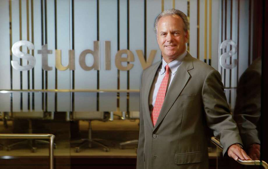 Mark Russell is executive vice president and a co-branch manager of the Houston office of commercial real estate firm Studley. Photo: Melissa Phillip, Staff / © 2013  Houston Chronicle