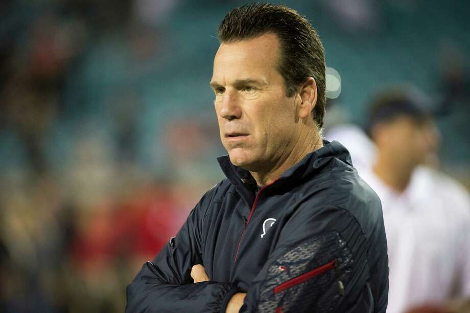 Texans coach Gary Kubiak watches his team lose its 11th straight game Thursday, and he lost his job a day later. Photo: Smiley N. Pool, Staff / © 2013  Houston Chronicle
