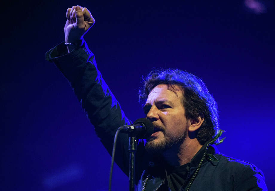Eddie Vedder of Pearl Jam performs at KeyArena in Seattle on Friday, Dec. 6, 2013. The show was the first time in about four years that the band has performed in their hometown. The show wrapped up their North American tour; they begin a tour of New Zealand and Australia in January. Photo: JOSHUA TRUJILLO, SEATTLEPI.COM / SEATTLEPI.COM
