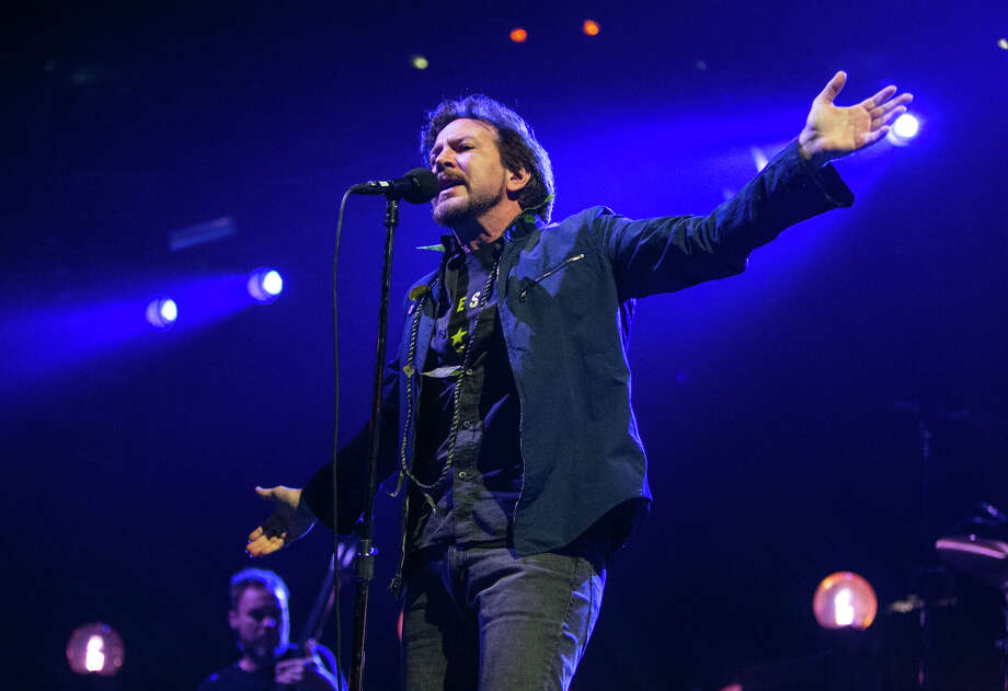 Eddie Vedder of Pearl Jam performs at KeyArena in Seattle on Friday, December 6, 2013. The show was the first time in about four years that the band has performed in their hometown. The show wrapped up their north American tour. Photo: JOSHUA TRUJILLO, SEATTLEPI.COM / SEATTLEPI.COM
