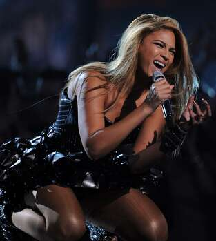 LOS ANGELES, CA - JANUARY 31:  Singer Beyonce Knowles performs onstage during the 52nd Annual GRAMMY Awards held at Staples Center on January 31, 2010 in Los Angeles, California.  (Photo by Kevin Winter/Getty Images) *** Local Caption *** Beyonce Knowles Photo: Kevin Winter, Getty Images / 2010 Getty Images