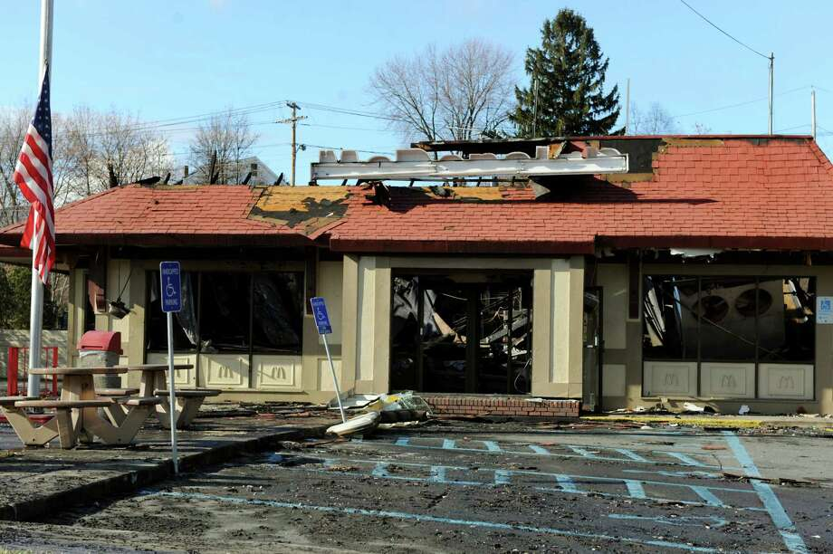 A McDonald's was destroyed by fire on Saturday, Dec. 7, 2013, in Waterford, N.Y. (Cindy Schultz / Times Union) Photo: Cindy Schultz