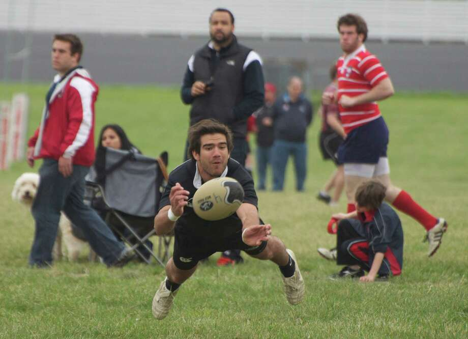 A year after being diagnosed with testicular cancer, Lucas Gowland, a 2010 Greenwich High School graduate, rejoined the Providence College menís rugby team and produced a successful fall season. Photo: Contributed Photo / Stamford Advocate Contributed