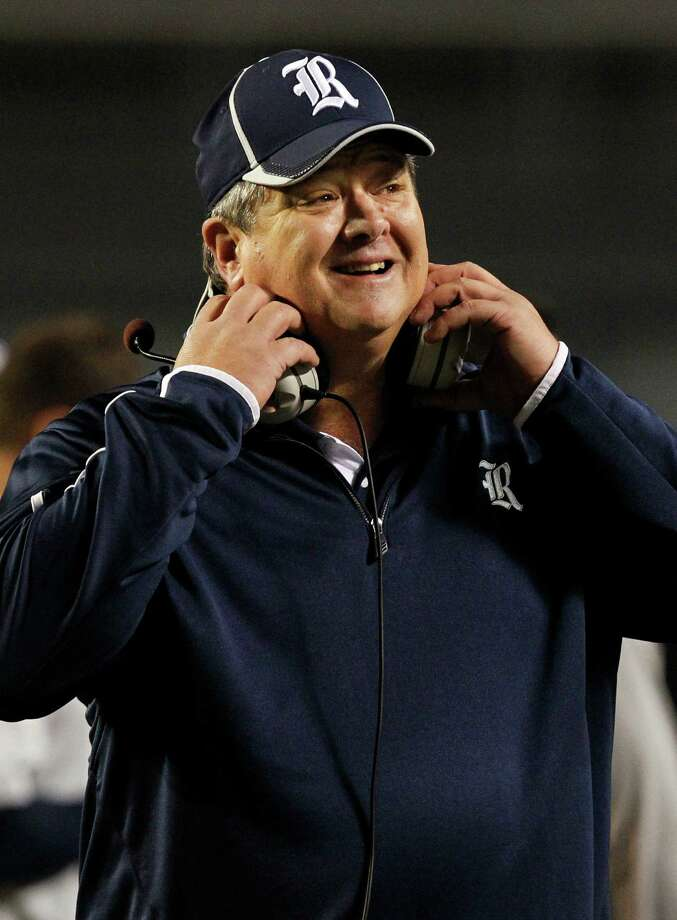 Rice head coach David Bailiff reacts to a play during the first half of an NCAA college football game against UAB on Thursday, Nov. 21, 2013, in Birmingham, Ala. (AP Photo/Butch Dill) Photo: Butch Dill, FRE / FR111446 AP