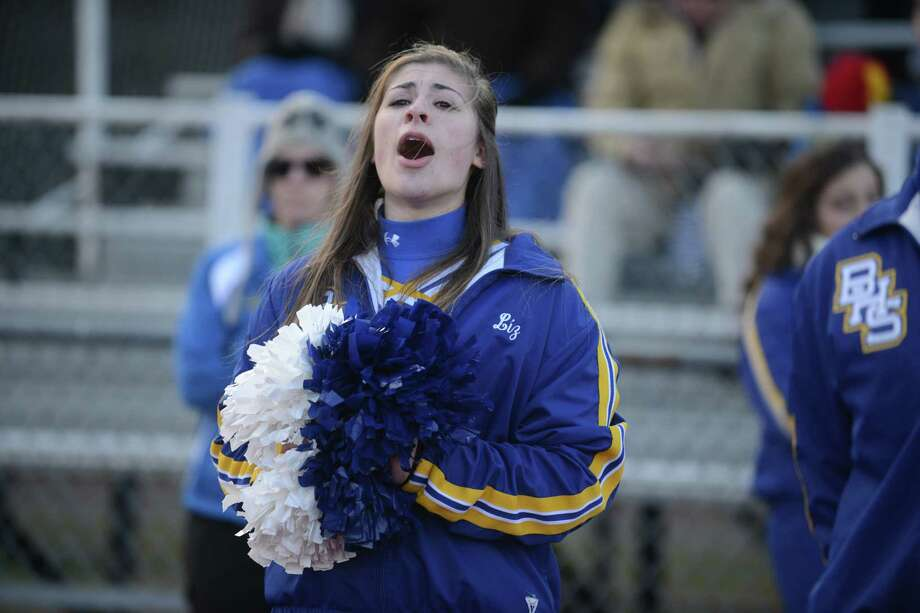 Brookfield and Valley Regional compete in the Class M seminfinal football game Saturday, Dec. 7, 2013 at Cheshire High School in Cheshire, Conn. Photo: Autumn Driscoll / Connecticut Post