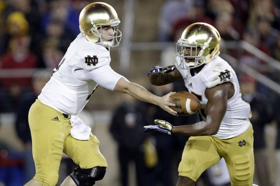 25. Notre Dame (8-4) Last week: 28 Photo: Marcio Jose Sanchez, Associated Press