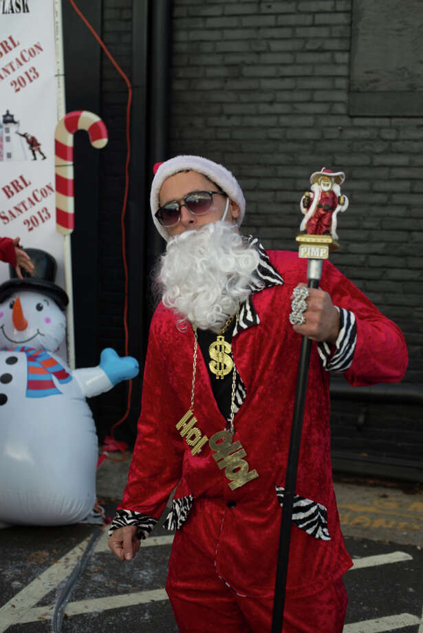 Santa Claus came to black rock on Saturday! Were you SEEN at SANTACON Black Rock? Photo: Andrew Merrill