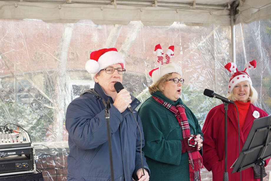 Greenwich merchants hosted their holiday stroll through downtown.  Santa was there. were you there? Were you SEEN? Photo: Andrew Merrill