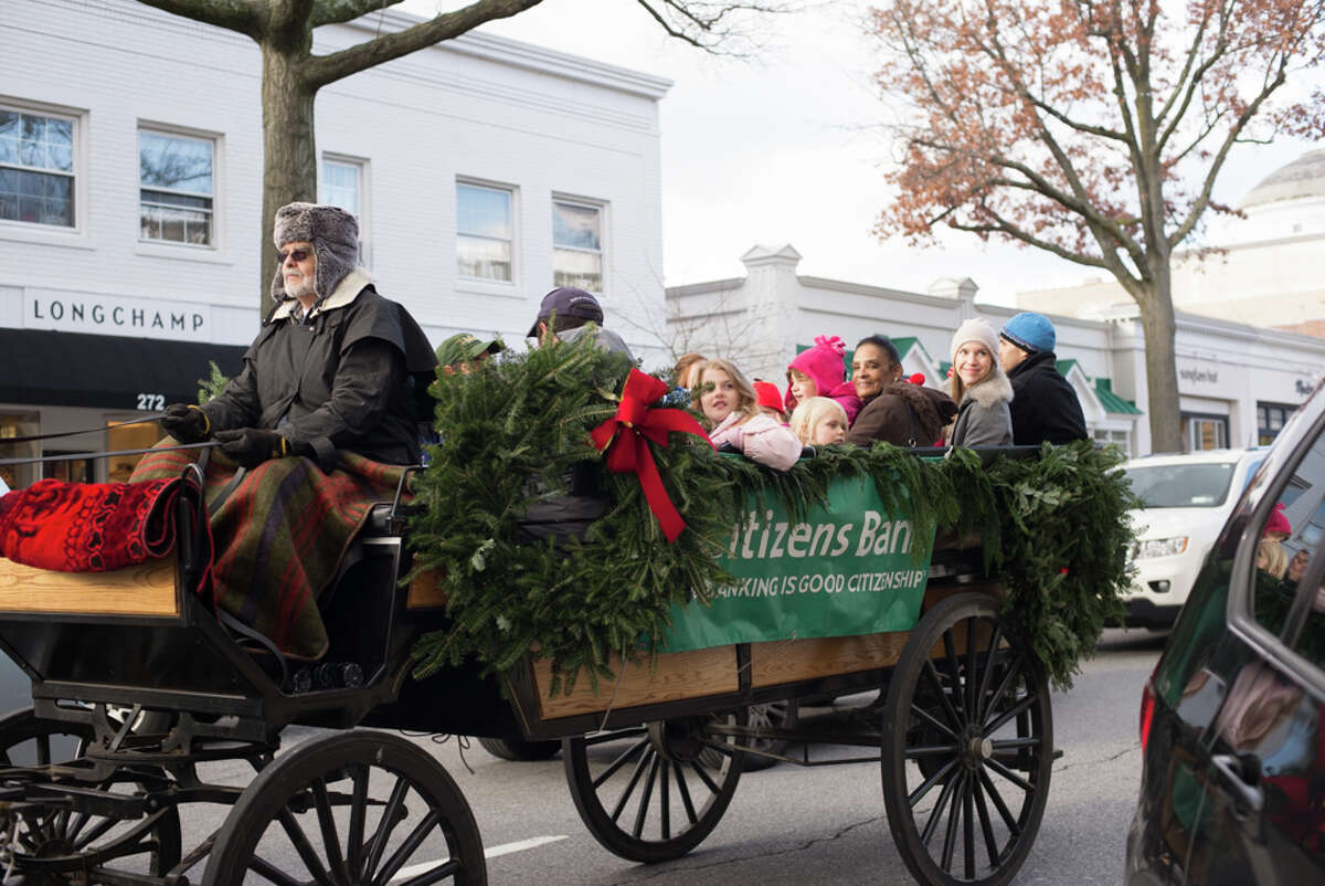 Greenwich merchants hosted their holiday stroll through downtown. Santa was there. were you there? Were you SEEN?