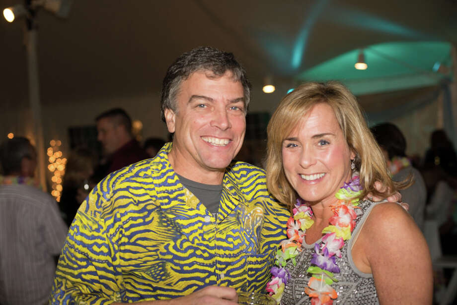 Fairfield Christmas Tree Festival Inc hosted its annual Christmas party benefiting a charity. This year the party was 'Christmas Island' themed and it benefited the Kennedy Center. Were you SEEN partaking in the holiday fun? Photo: Andrew Merrill