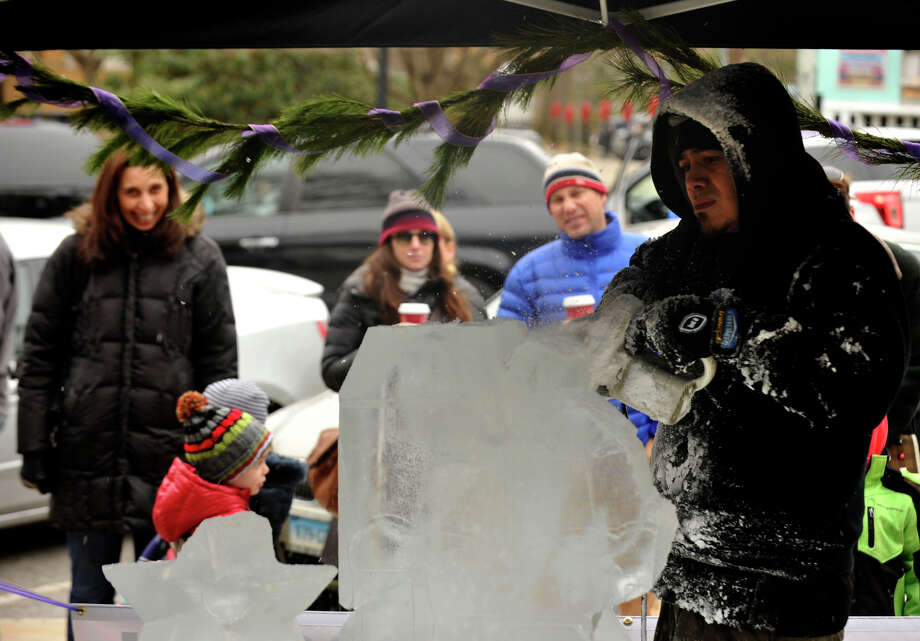 Scenes from the annual Greenwich Holiday Stroll in downtown Greenwich, Conn., on Sunday, Dec. 8, 2013. Photo: Jason Rearick / Stamford Advocate