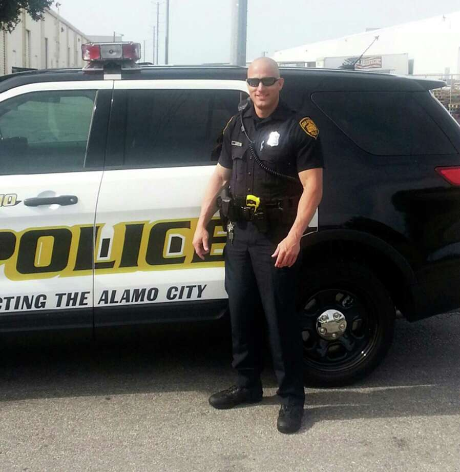 Photo of Robert Deckard, 31 is in the intensive care unit after he was shot in the head during a police chase early this morning December 8, 2013. Photo: Courtesy SAPD