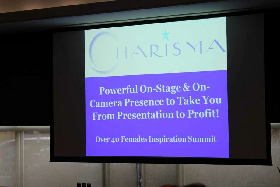 Were you SEEN at the Over 40 Females Inspiration Summit? Photo: Picasa, P. Ha-Stevenson / Hearst Connecticut Media Group