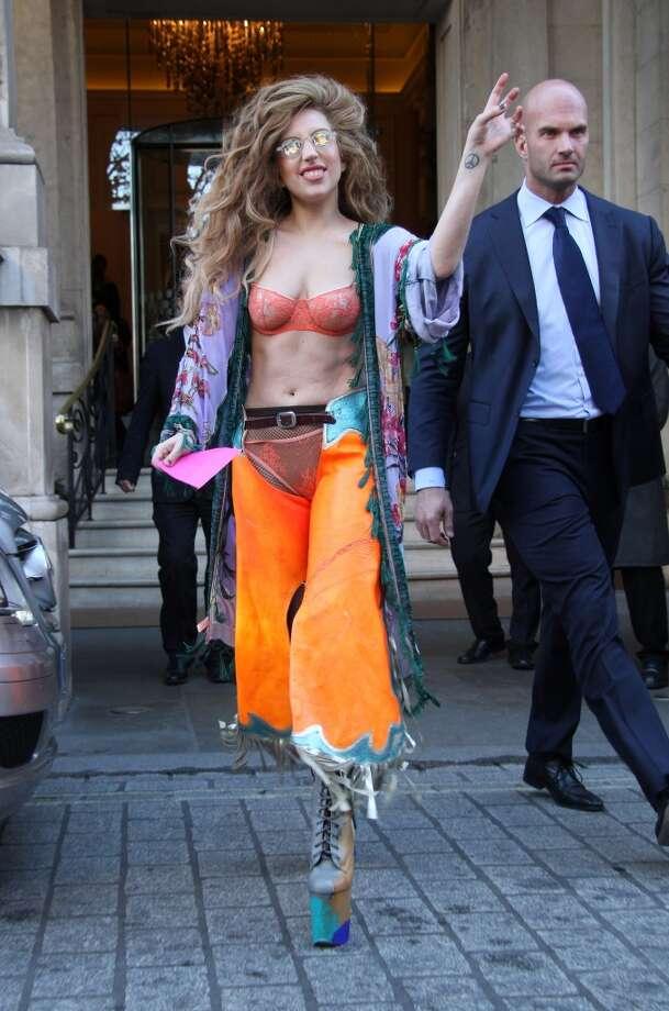 Lady Gaga Photo: Simon James, FilmMagic