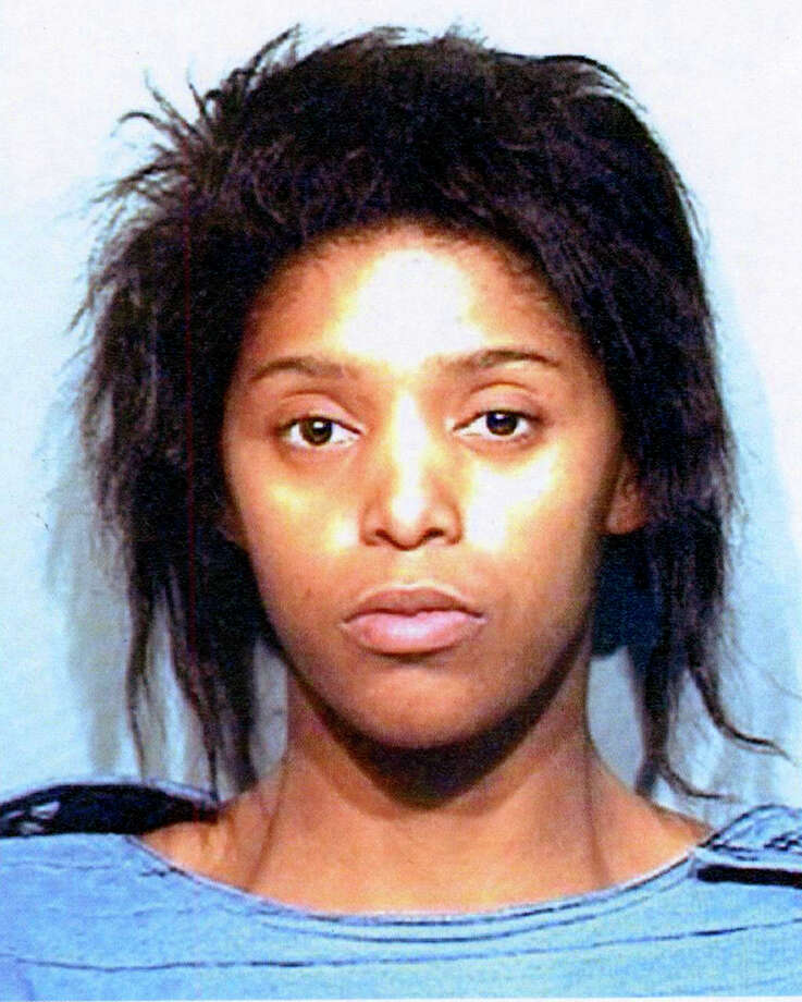 Tashawna M  Caldwell,  a woman who has been charged with capital murder in the stabbing death of her 2-year-old son. She's in custody in the Atascoca County Jail in Jourdanton Photo: Courtesy