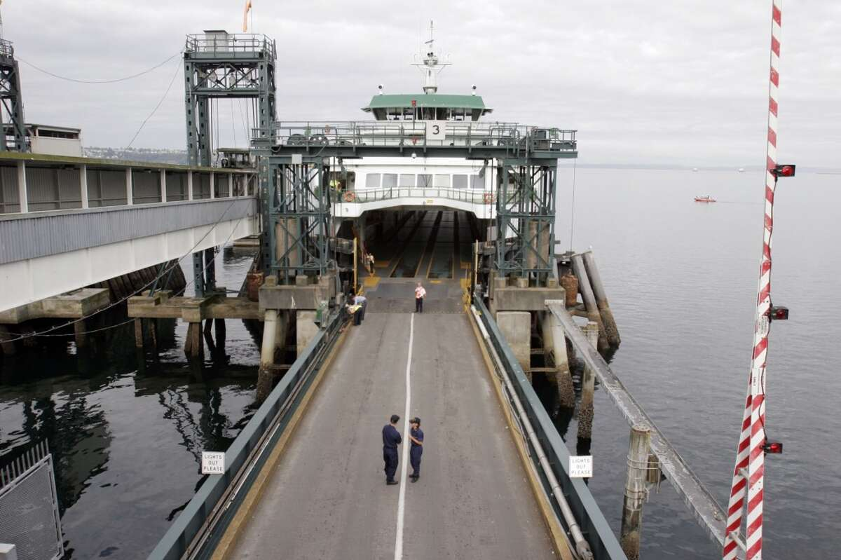 Most-visited transit stop: Seattle Ferry Terminal Lyft riders couldn't wait to get on a boat to Bainbridge Island or Bremerton, apparently, and made the ferry terminal at Colman Dock the top stop in the transit category in 2015.
