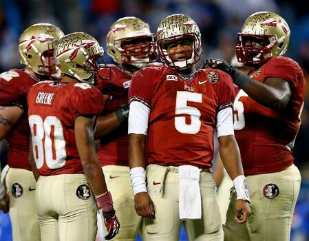 VIZIO BCS National Championship game  Florida State vs. Auburn  Time: 7:30 p.m.  Date: Jan. 6, 2014  TV: ESPN  Location: Rose Bowl in Pasadena, CA Photo: Streeter Lecka, Getty Images