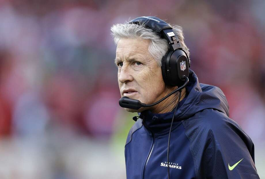 Seattle Seahawks head coach Pete Carroll on the sidelines in the second half of an NFL football game against the San Francisco 49ers, Sunday, Dec. 8, 2013, in San Francisco. (AP Photo/Ben Margot) Photo: Ben Margot, AP