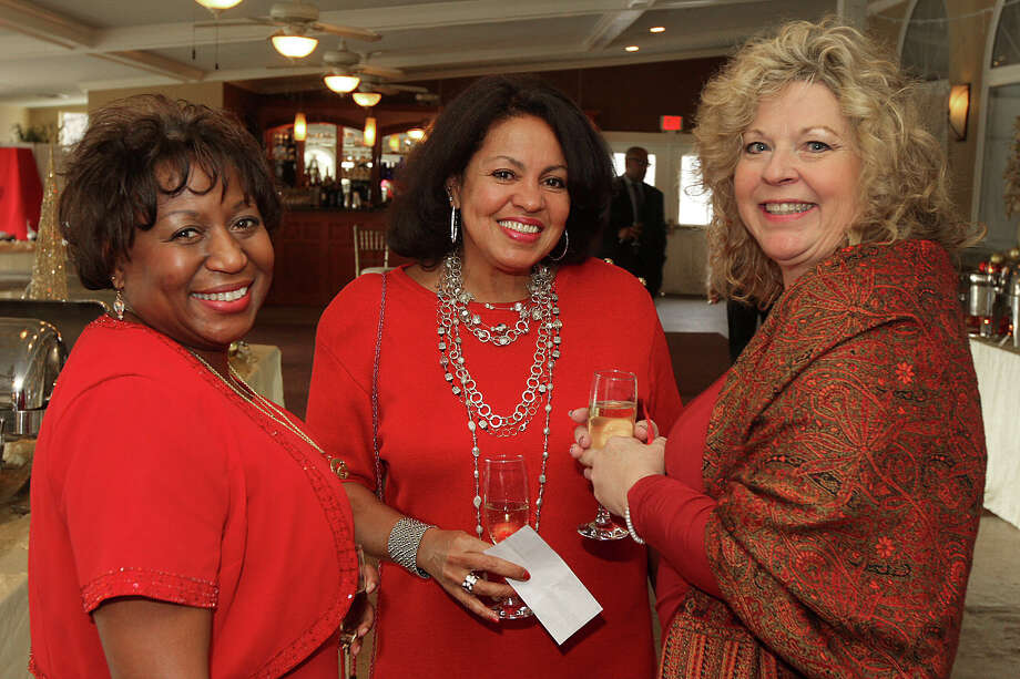 Were you seen at the Albany Chapter of Girlfriends Inc. annual Paint the Town Red fundraiser, to benefit Habitat for Humanity's Sheridan Hollow Project, at Glen Sanders Mansion in Scotia on Sunday, Dec. 8, 2013? Photo: Joe Putrock, Joe Putrock/Special To The Times Union / (c) Joe Putrock 2013