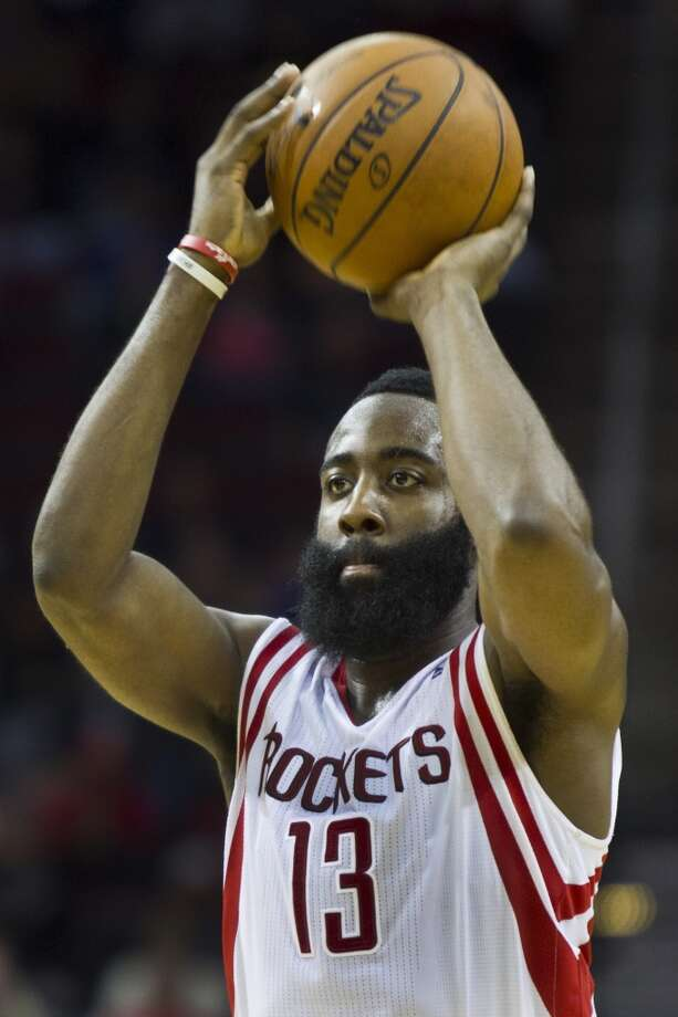 Dec. 8: Rockets 98, Magic 88Rockets shooting guard James Harden scored 27 points and had 10 assists against the Magic. Photo: Marie D. De Jesus, Houston Chronicle