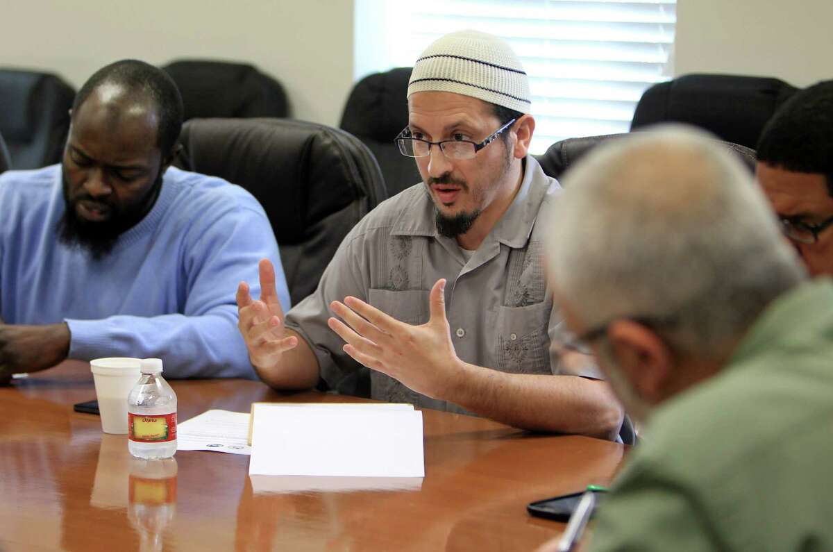 Daniel Hernandez, 35, of Pearland Islamic Center, 35, shares ideas on how to reach out to a younger generation that feels locked out of important roles.