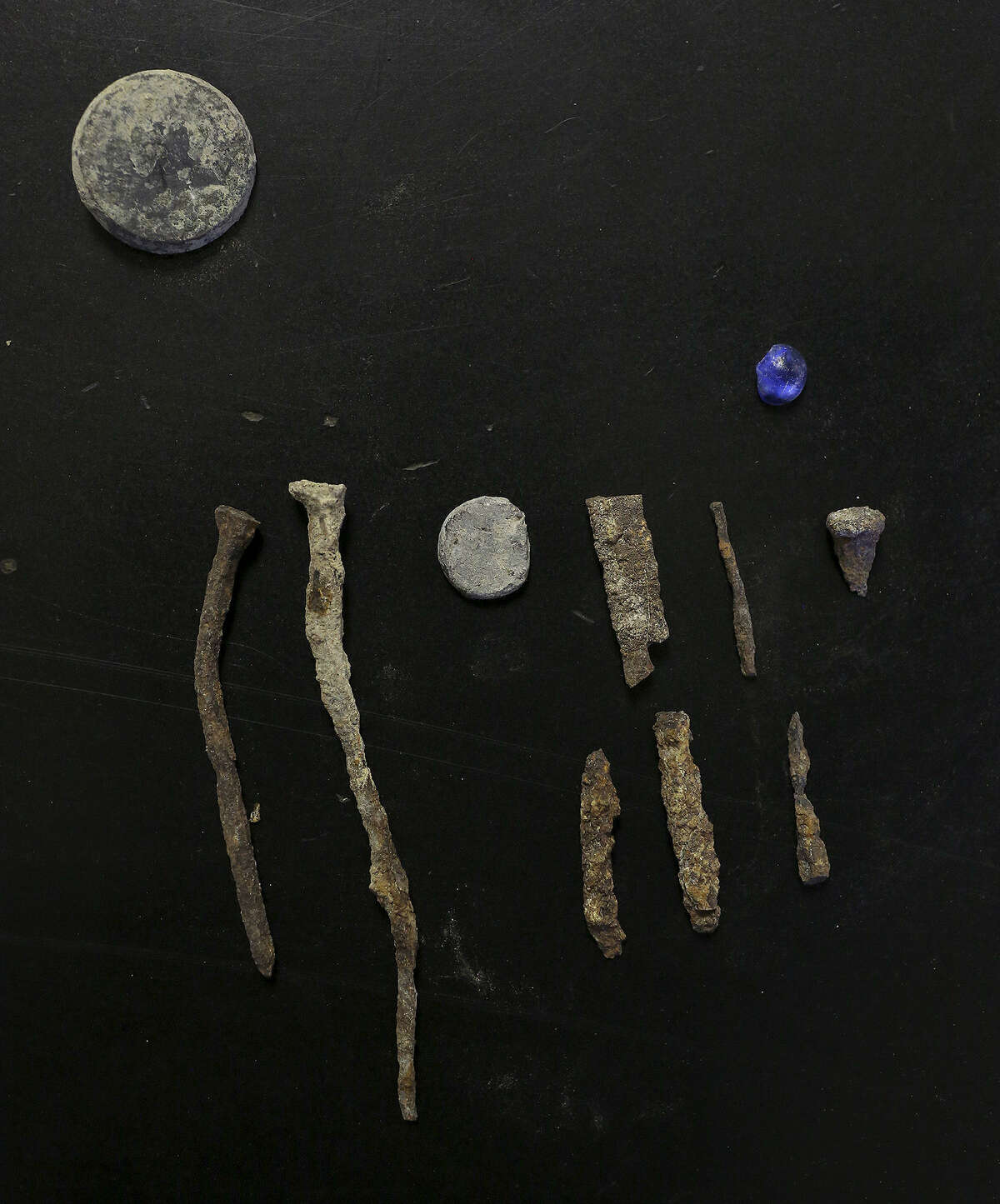 Remnants found at the site suggest a link but don't conclusively tie them to the original mission.