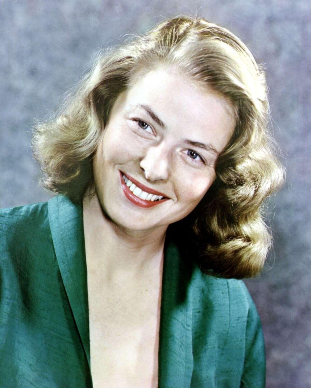 Ingrid Bergman, Swedish actress of Swedish, American, Italian and French cinema. A ray of light.