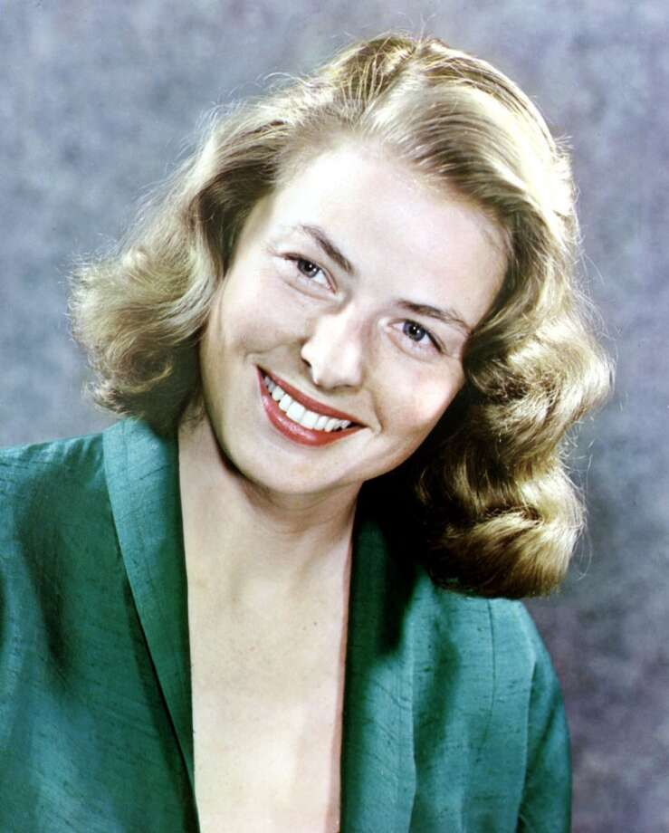 Ingrid Bergman, Swedish actress of Swedish, American, Italian and French cinema.  A ray of light. Photo: Apic, Getty Images