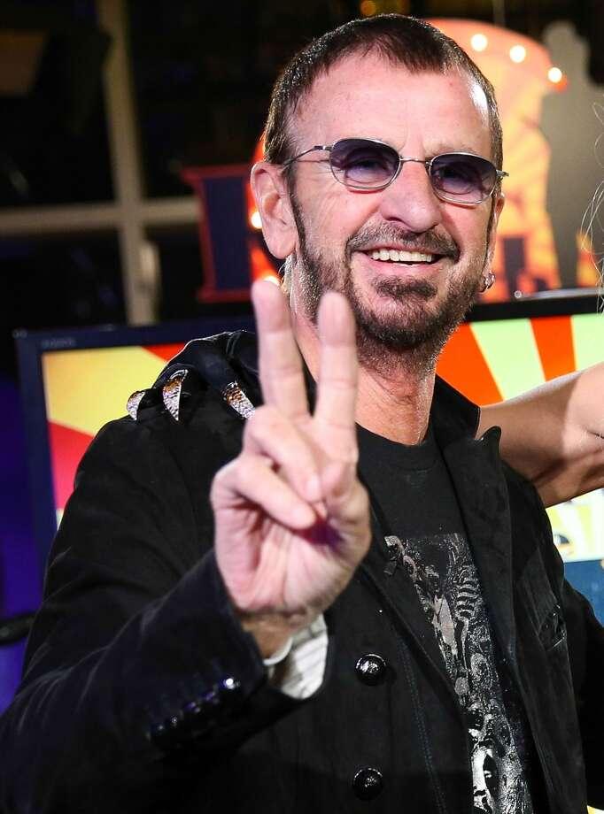 Ringo Starr, the nice one. Photo: Imeh Akpanudosen, Getty Images