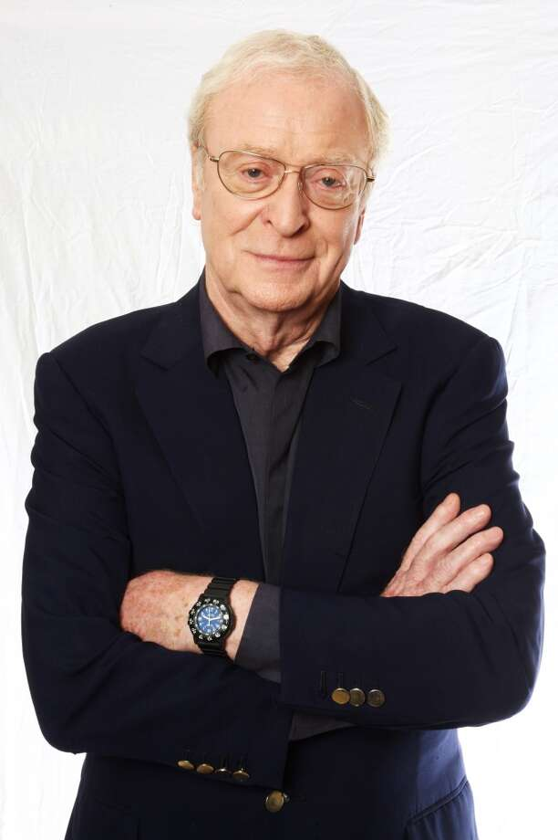 Michael Caine -- great actor, but he does an only so-so Michael Caine impersonation. Photo: Dave Hogan, Getty Images