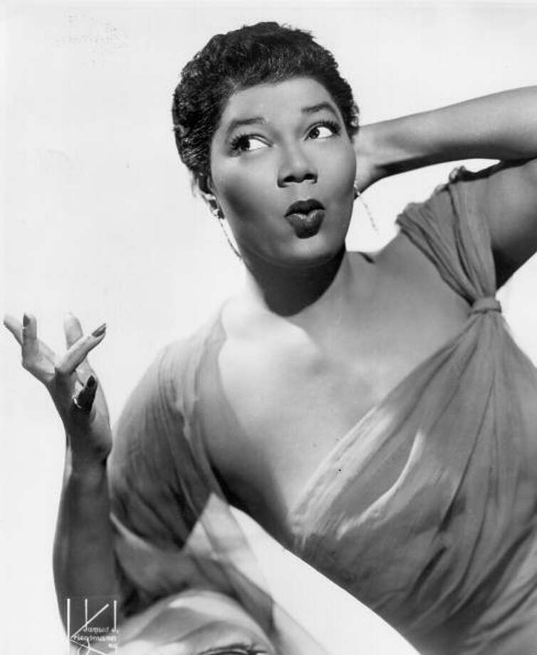 Pearl Bailey, singer and actress. Photo: Michael Ochs Archives / Michael Ochs Archives