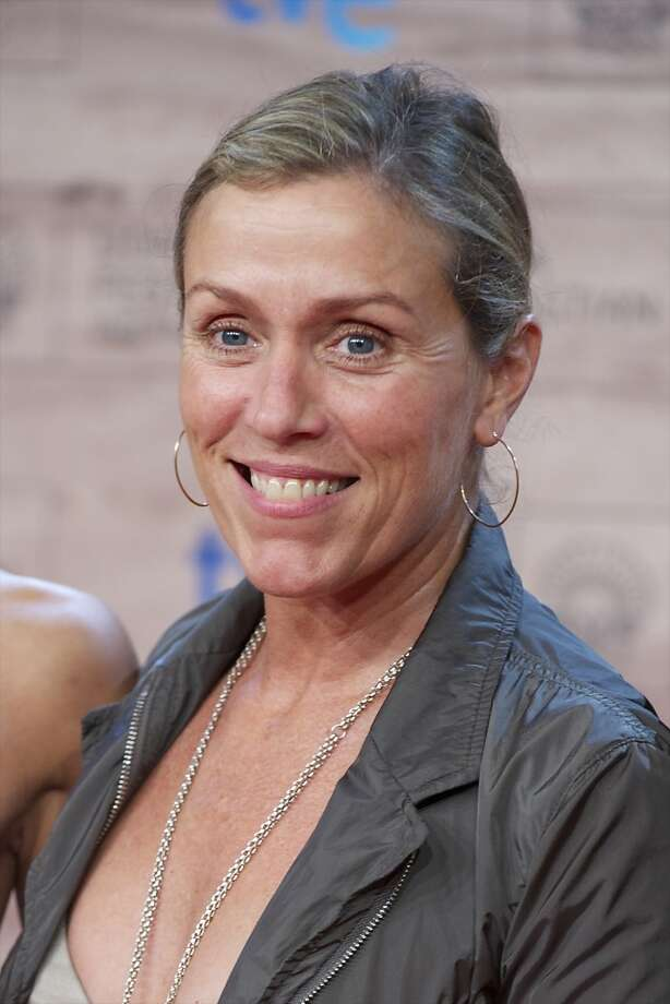 Frances McDormand, extremely likable no-nonsense actress. Photo: Carlos Alvarez, Getty Images