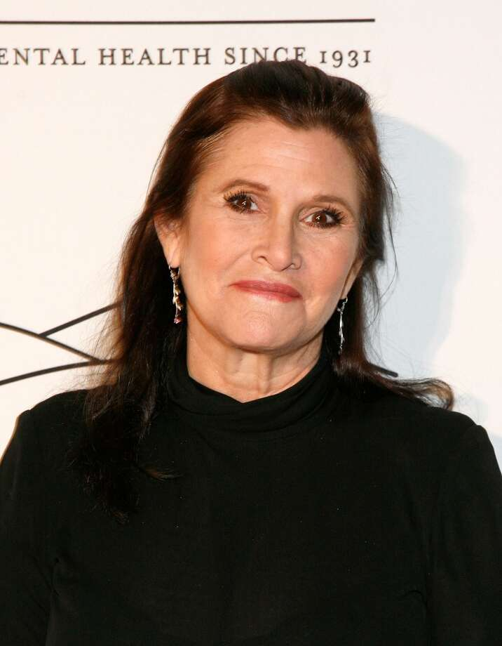 Carrie Fisher, her own thing for 36 years of public life.  What's not to like? Photo: Andy Kropa, Getty Images
