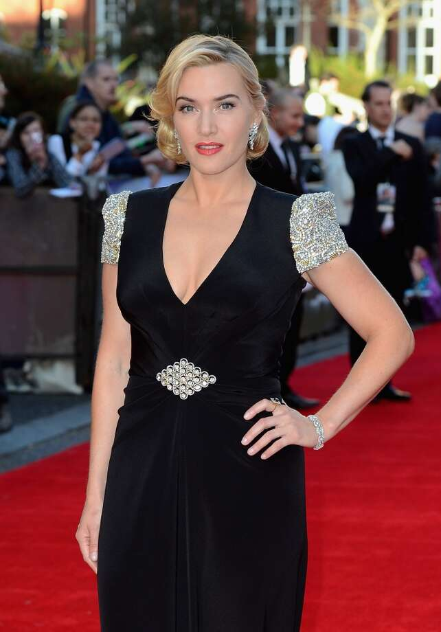 Kate Winslet, great star, with no pretense. Photo: Gareth Cattermole, Getty Images