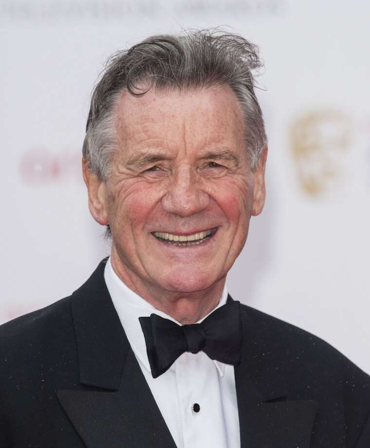 Michael Palin, world traveler and comedian, nice guy. Photo: Mark Cuthbert, UK Press Via Getty Images