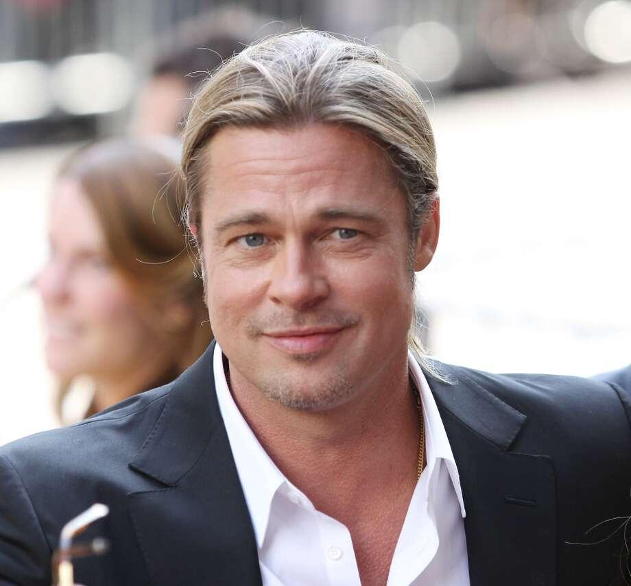 Brad Pitt, actor and matinee idol. Photo: Michael Tran, FilmMagic