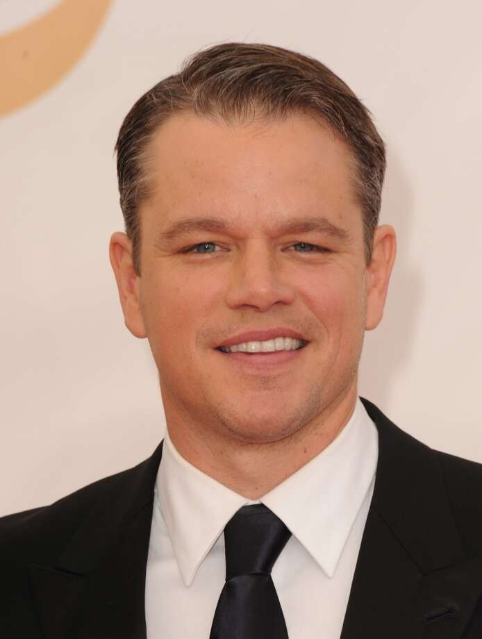 Matt Damon, for being a good actor and not mentioning it, just waiting for somebody to notice. Photo: Steve Granitz, WireImage