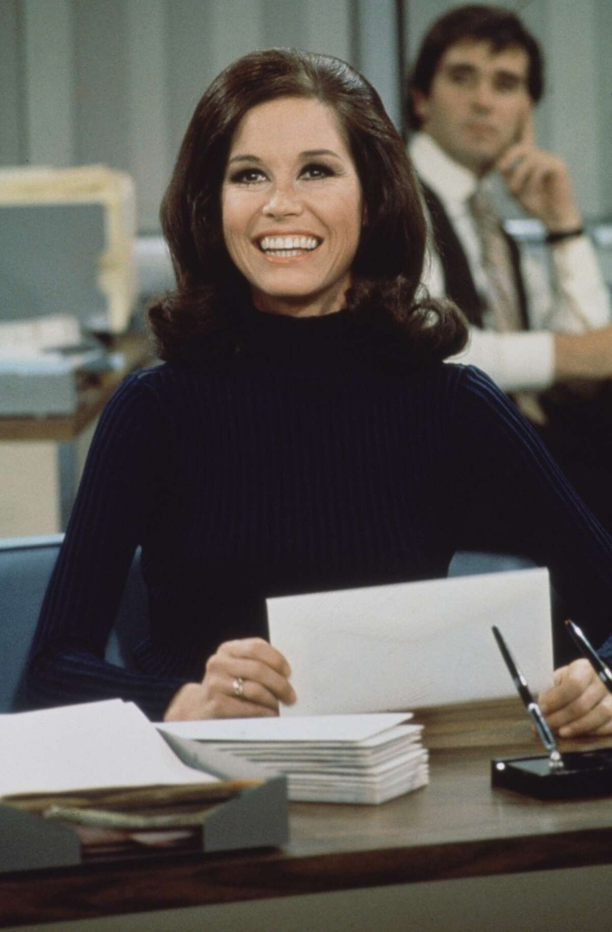 Return to TV In 1970, Moore broke out as Mary Richards on