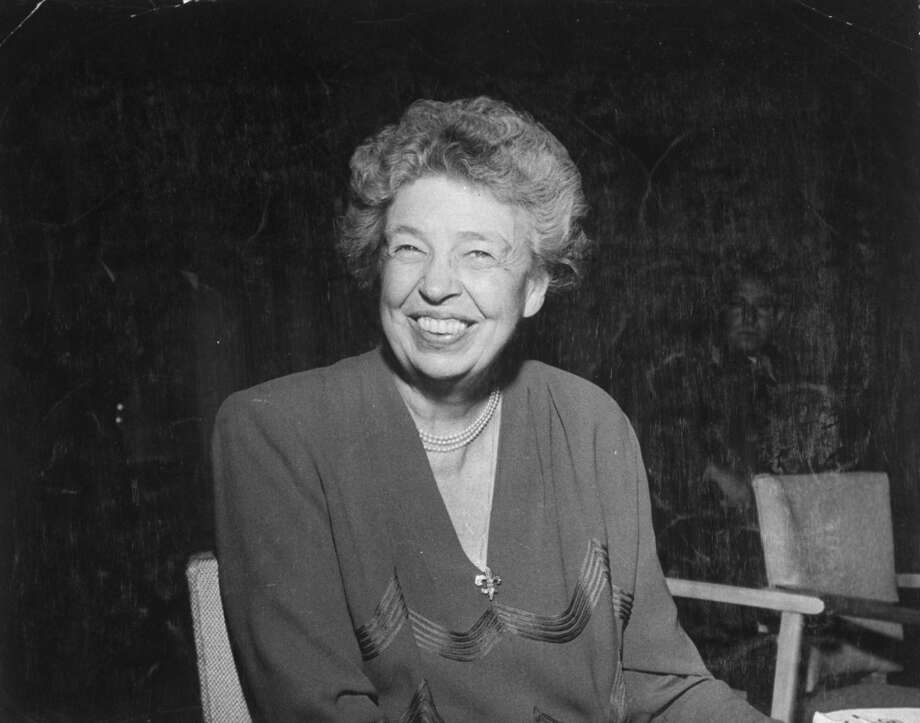Eleanor Roosevelt, first lady and humanitarian. Photo: Leo Rosenthal, Time & Life Pictures/Getty Image