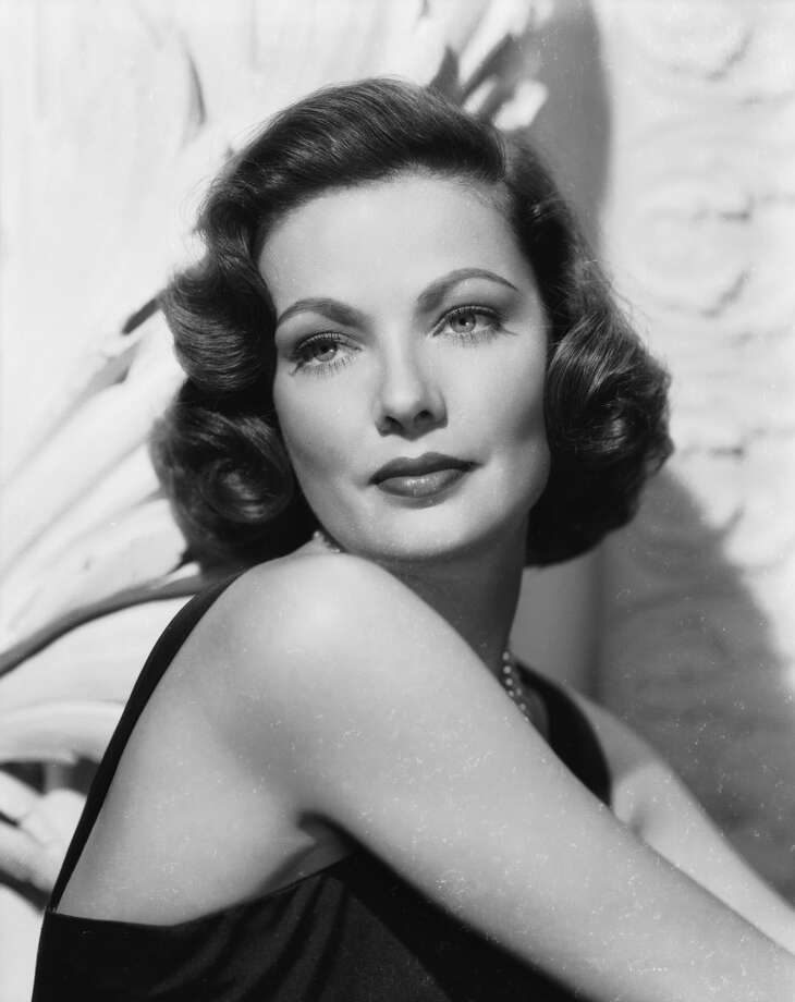 Gene Tierney, screen actress. Photo: John Kobal Foundation, Getty Images