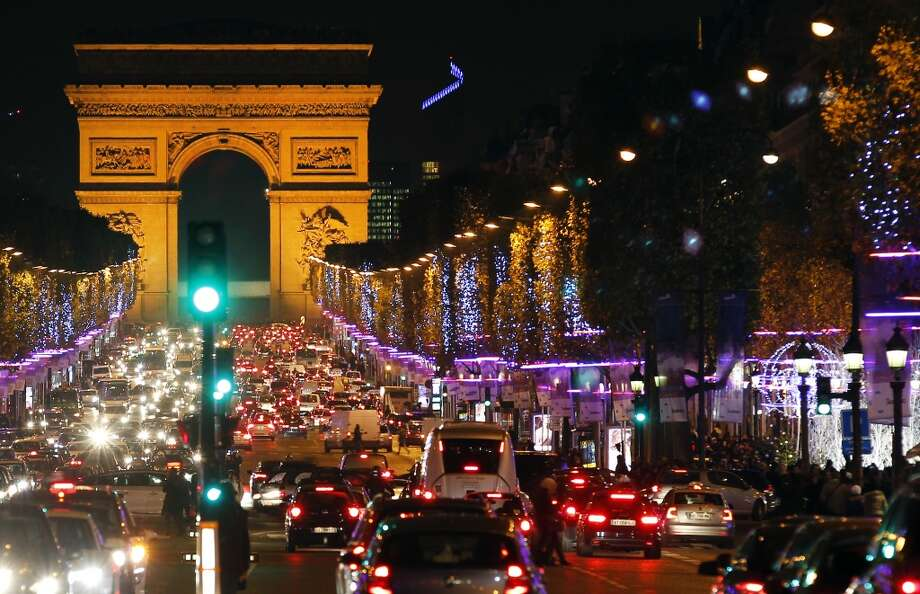 PARIS:  Parisians and visitors from around the world have until early January to experience the decorated Avenue des Champs-Élysées. Photo: Chesnot, Getty Images